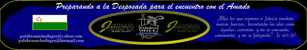 Palabra Miel (Milagro-Ecuador)