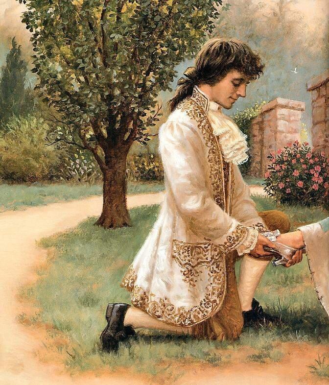 Cinderella Story In Classic Art