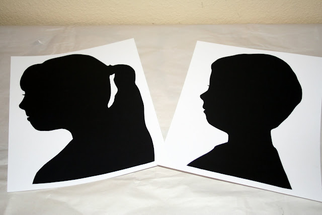 DIY-silhouettes