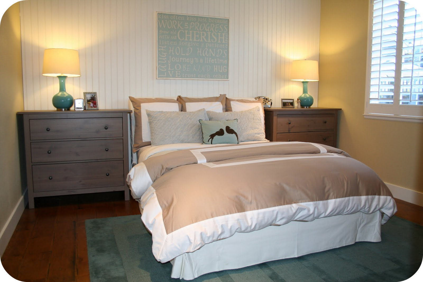 April KennedyMy Life + My Style: Small Spaces -Master Bedroom