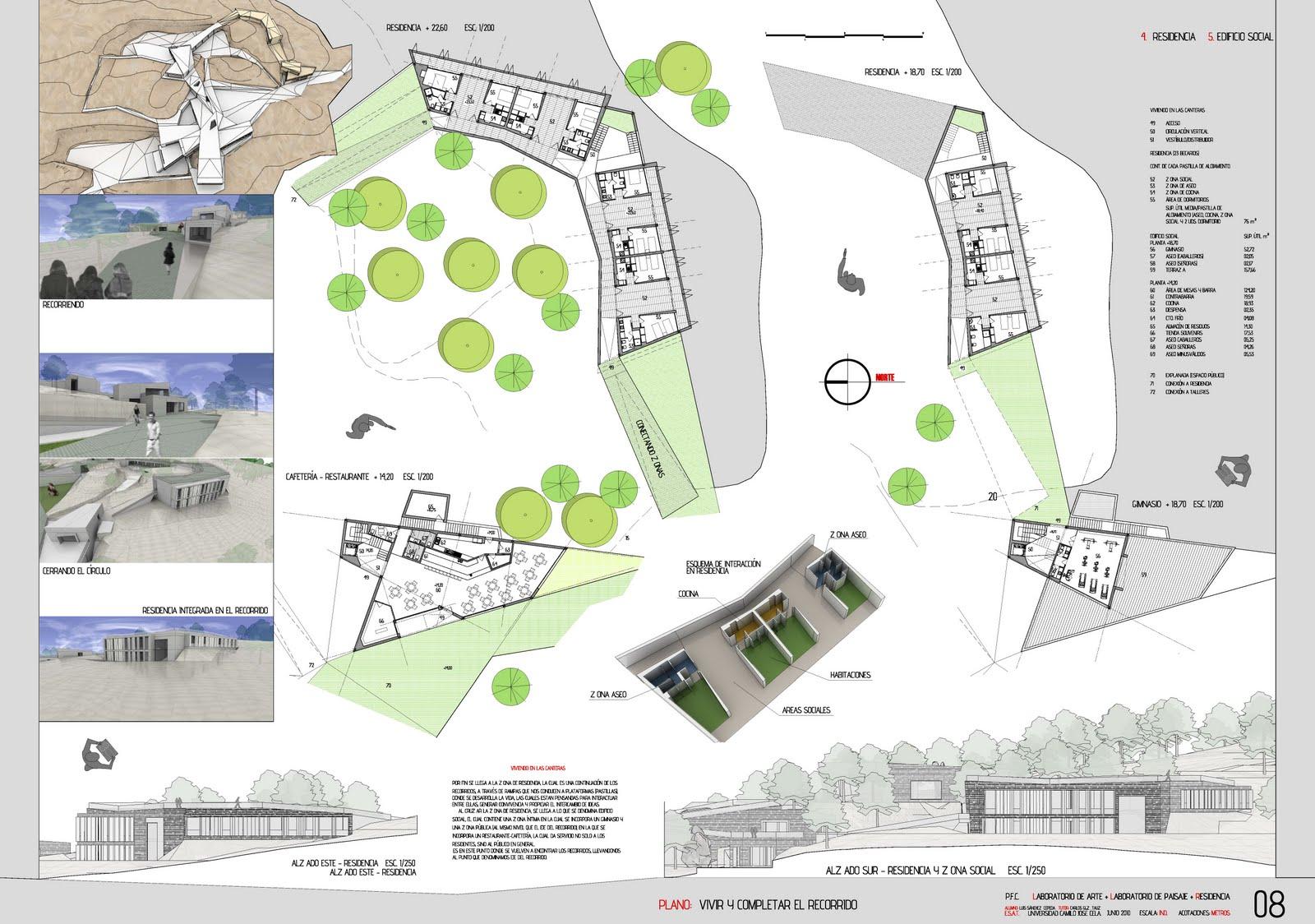 Proyectos 7 planos presentaci n pfc arquitectura for Planos en pdf arquitectura