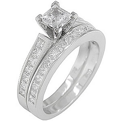The fame of diamond wedding ring can be unspecified by the fact that it is
