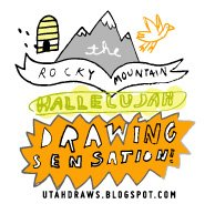 The Rocky Mountain Hallelujah Drawing Sensation!