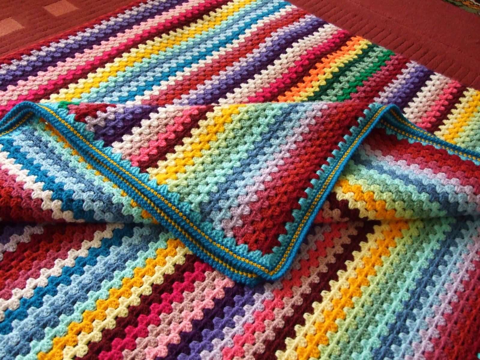 Страна мам вязание крючком пледа