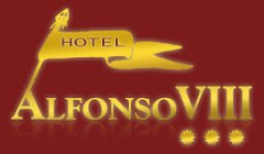 Logo de uno de los hoteles de Cuenca, el Hotel Alfonso VIII