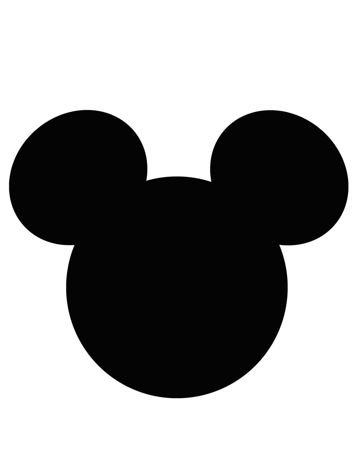 Mickey And Minnie Mouse Free Printables additionally Mickey Mouse Face ...