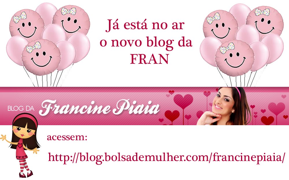 Blog oficial da Fran