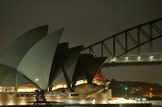 earth hour 2009 in sydney australia