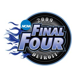 2009 ncaa bracket basketball final four image logo