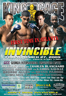 watch King of the Cage Invincible Retribution 2 online live stream image