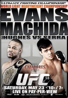 ufc 98 evans vs machida live results