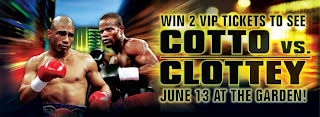 Watch Cotto vs Clottey Live Stream Online poster