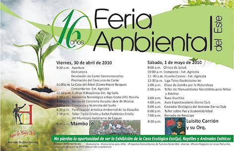 La  Liga en  la  Feria  Ambiental -  1 de Mayo 2010 -  Humacao