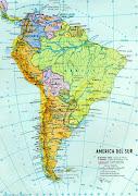 Mapa de América del Sur. Es importante que conozcas a los países que . (mapa sud america)