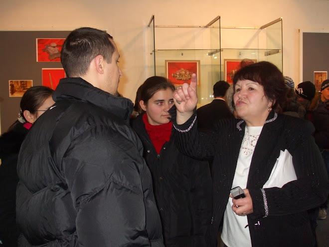 Vizitarea Expoziţiei de Călimări, Muzeul de Istorie Piatra Neamţ
