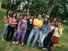 Fotografie de grup în Parcul Dendrologic Roznov