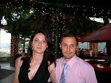 Împreună cu eleva Zănoagă Sânziana, la Banchetul de absolvire...
