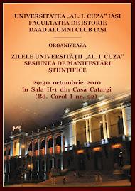 """Zilele Universităţii """"Alexandru Ioan Cuza"""", afişul oficial"""