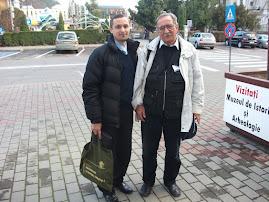 Împreună cu arheologul Gheorghe Sion, 20 nov. 2010