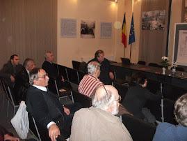 Aspecte din desfăşurarea SESIUNII NAŢIONALE DE COMUNICĂRI ŞTIINŢIFICE, Piatra Neamţ, 20 nov.  2010