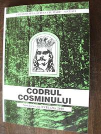 """Coperta 1 a revistei """"Codrul Cosminului"""""""