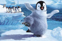 I pinguini di Happy Feet