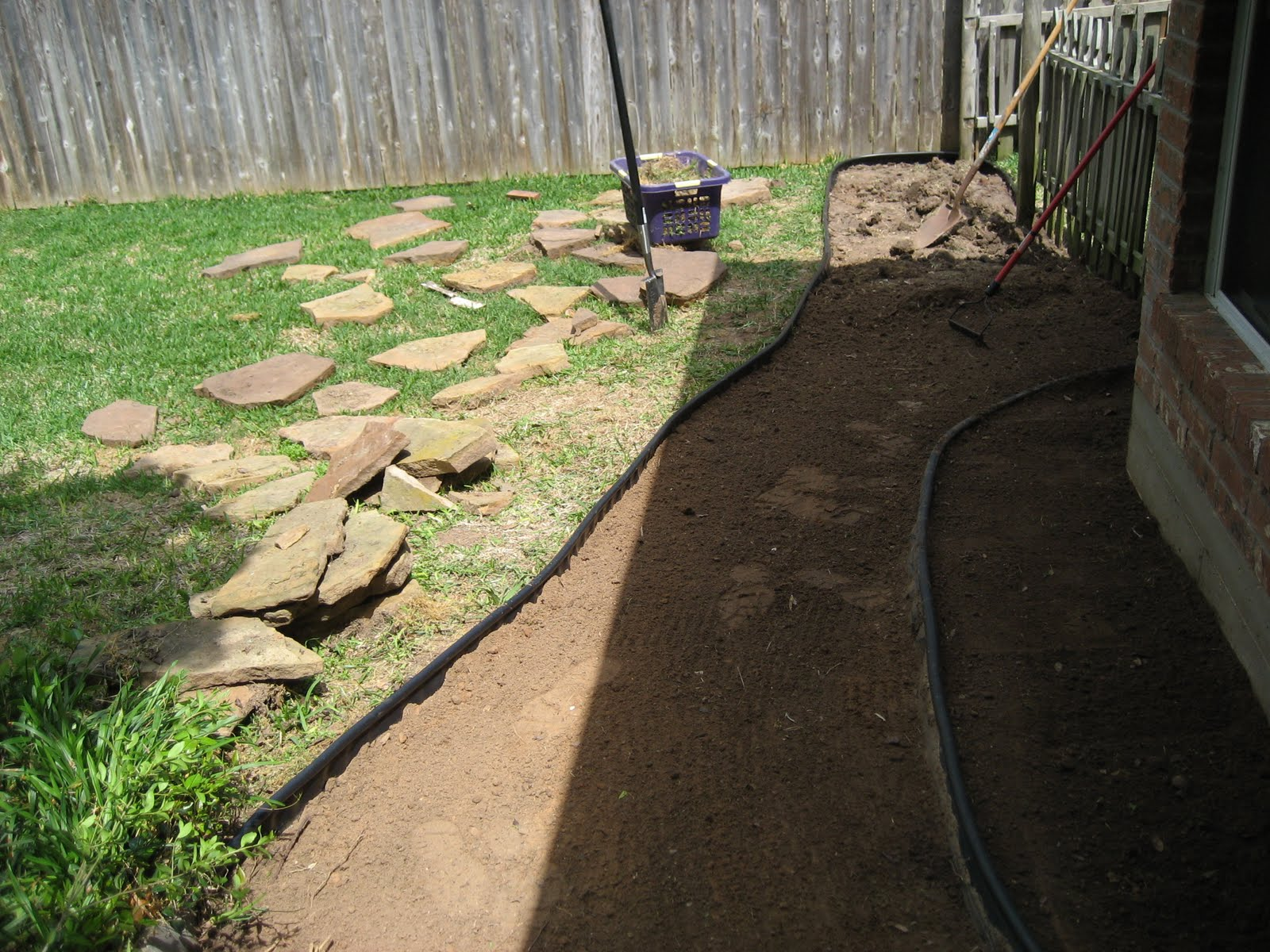 bridget and bear project backyard walkway