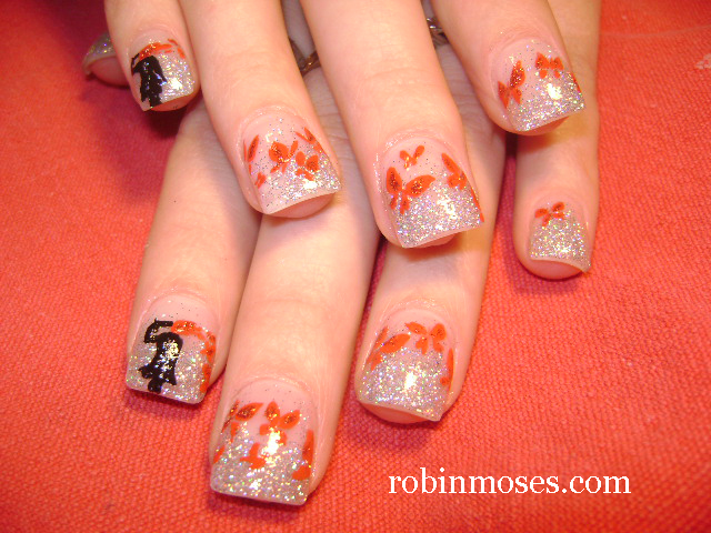 Nail Art Design Christmas Man Angel Nail Art Man Angel Nail Art