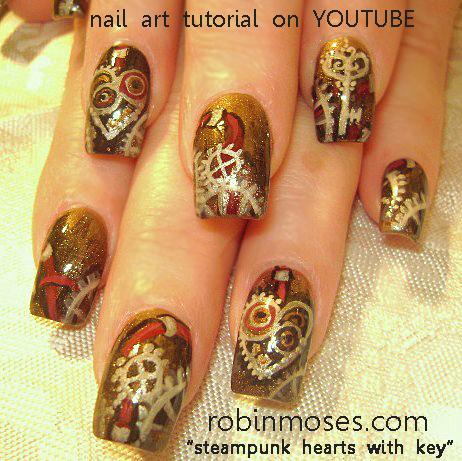 Robin Moses Nail Art Chocolate Nail Chocolate Candy Nail