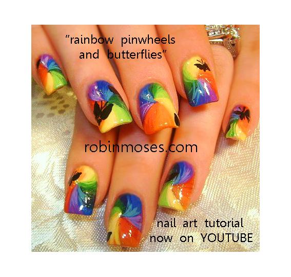 Robin moses nail art eyeshadow nail art eye shadow nail art an error occurred prinsesfo Gallery