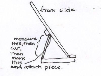 Free Artist Easel Plans - Woodworking Downunder