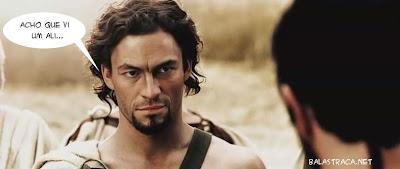 homem de cabelo comprido com trancinhas, rei leonidas 300