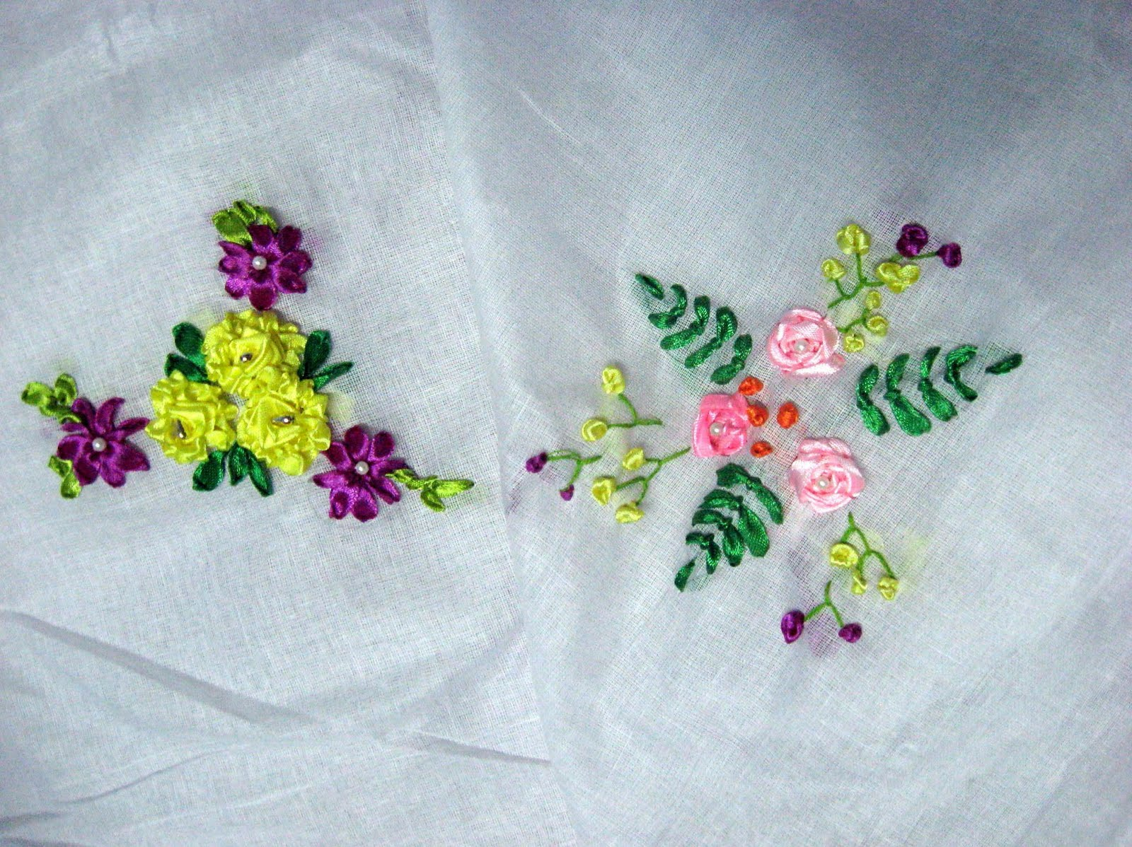 Craft Zone Ribbon Embroidery