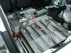 ePrius back - 3 Prius batteries in tandem! No Gas!