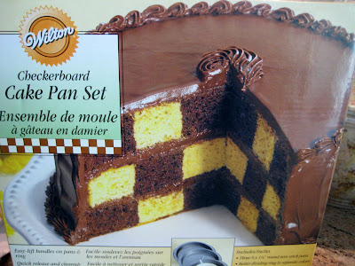 Wilton Checkerboard Cake Pan