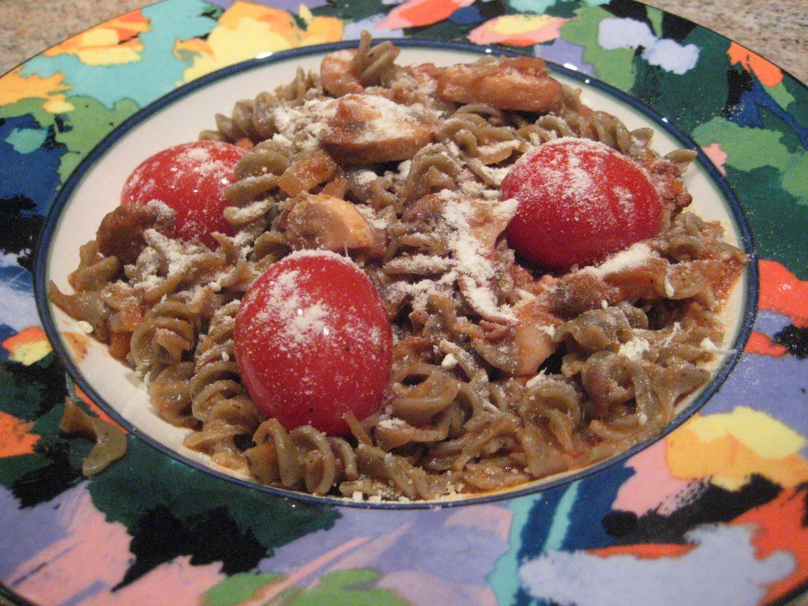 Toss Together Chorizo, Feta And Tomato Pasta Recipe — Dishmaps