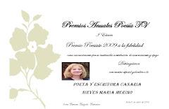 Premio poesía-tv 2009 a la fidelidad
