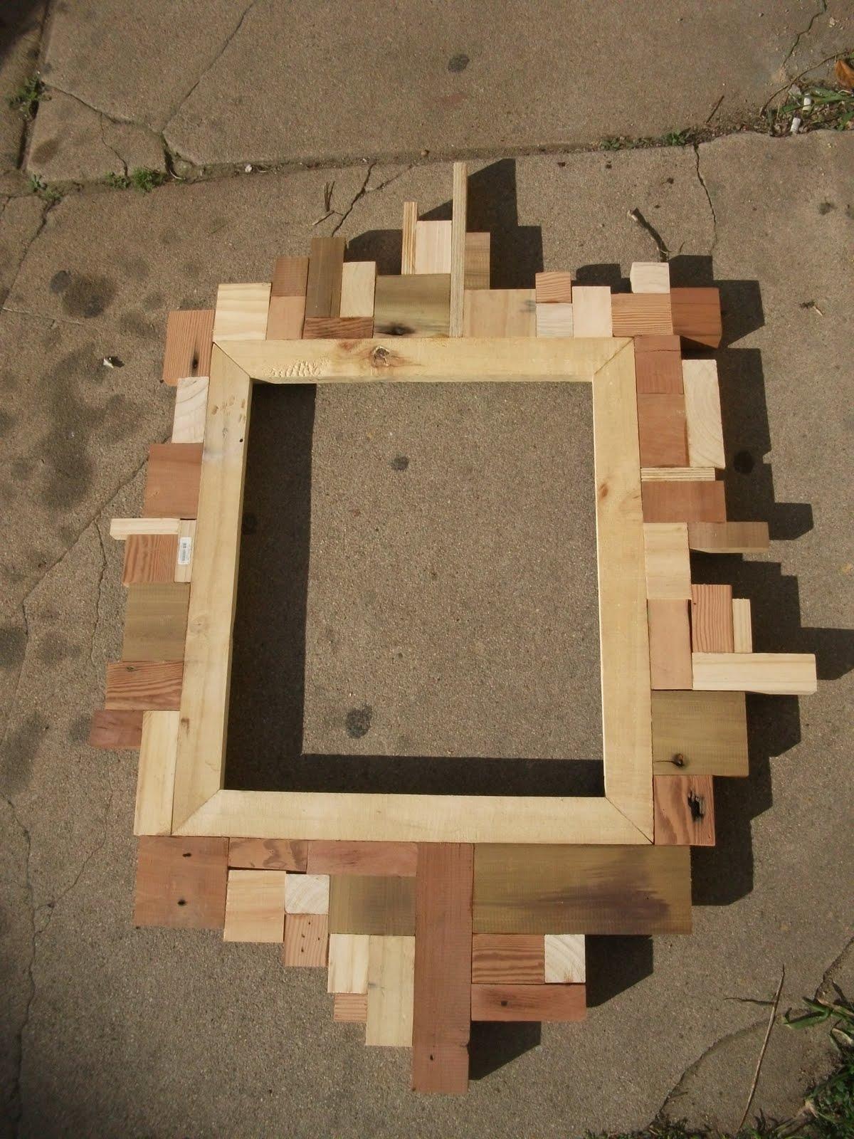 Marcos para espejo imagui - Espejos marco madera ...