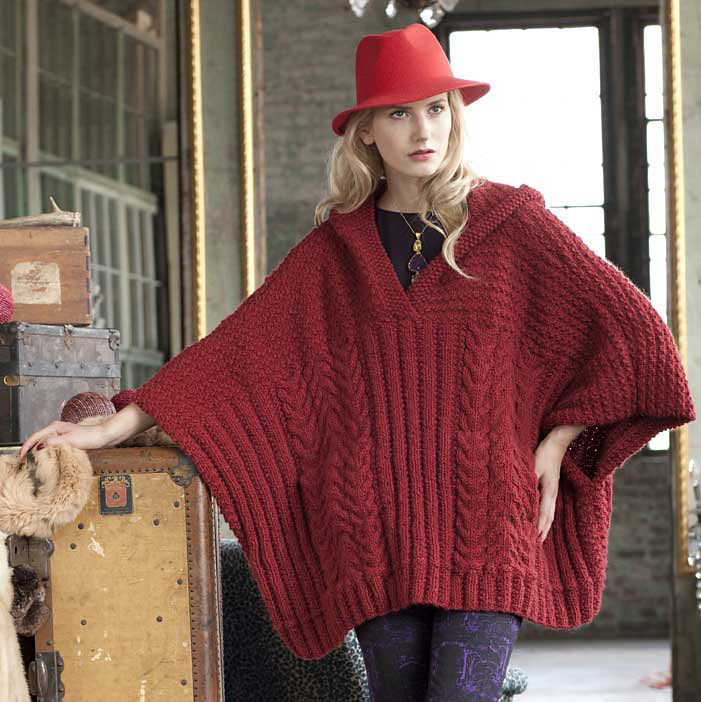 Knitting Patterns For Plus Size Sweaters : Knitting at Large: More new plus size patterns