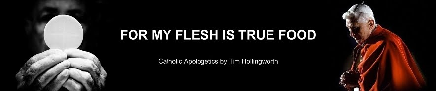 FOR MY FLESH IS TRUE FOOD...