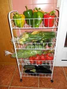 Verdulera con 'La mejor verdura'.