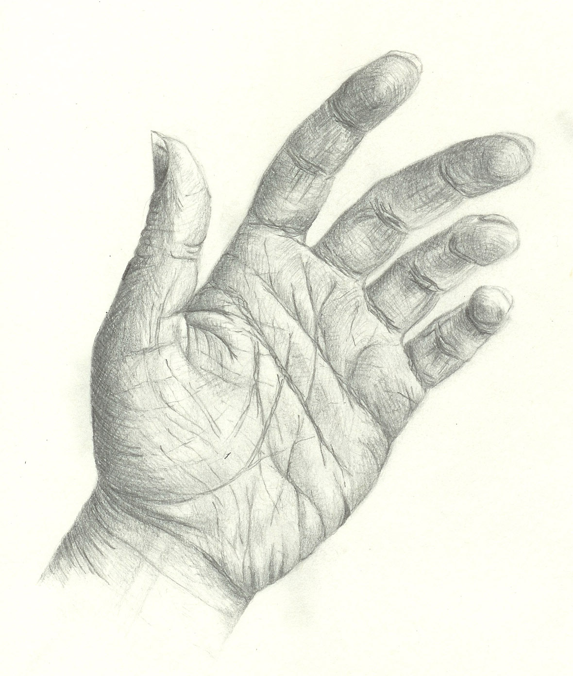 Inspiring Young Artists: Observational drawing: hand