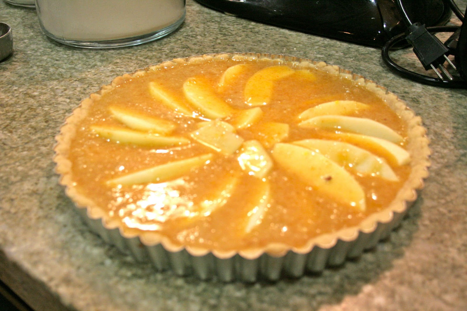 Omnivorous: Brown Butter Apple Tart
