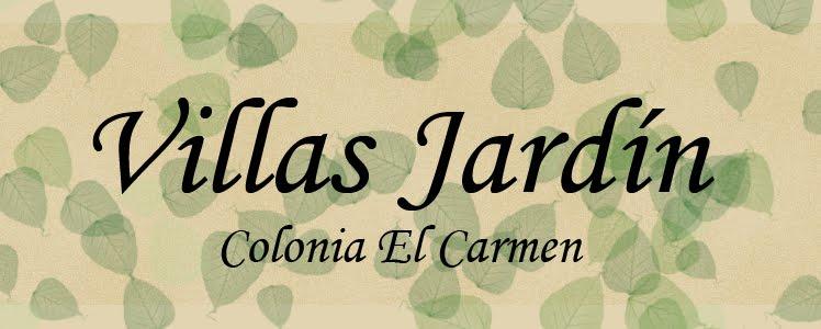 Villas Jardín Colonia El Carmen
