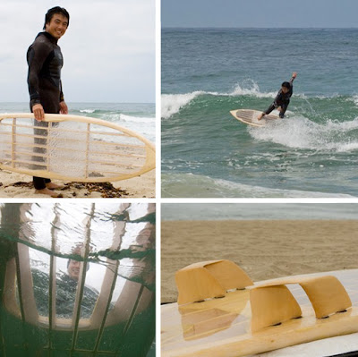eco design, prancha de surf, reciclagem