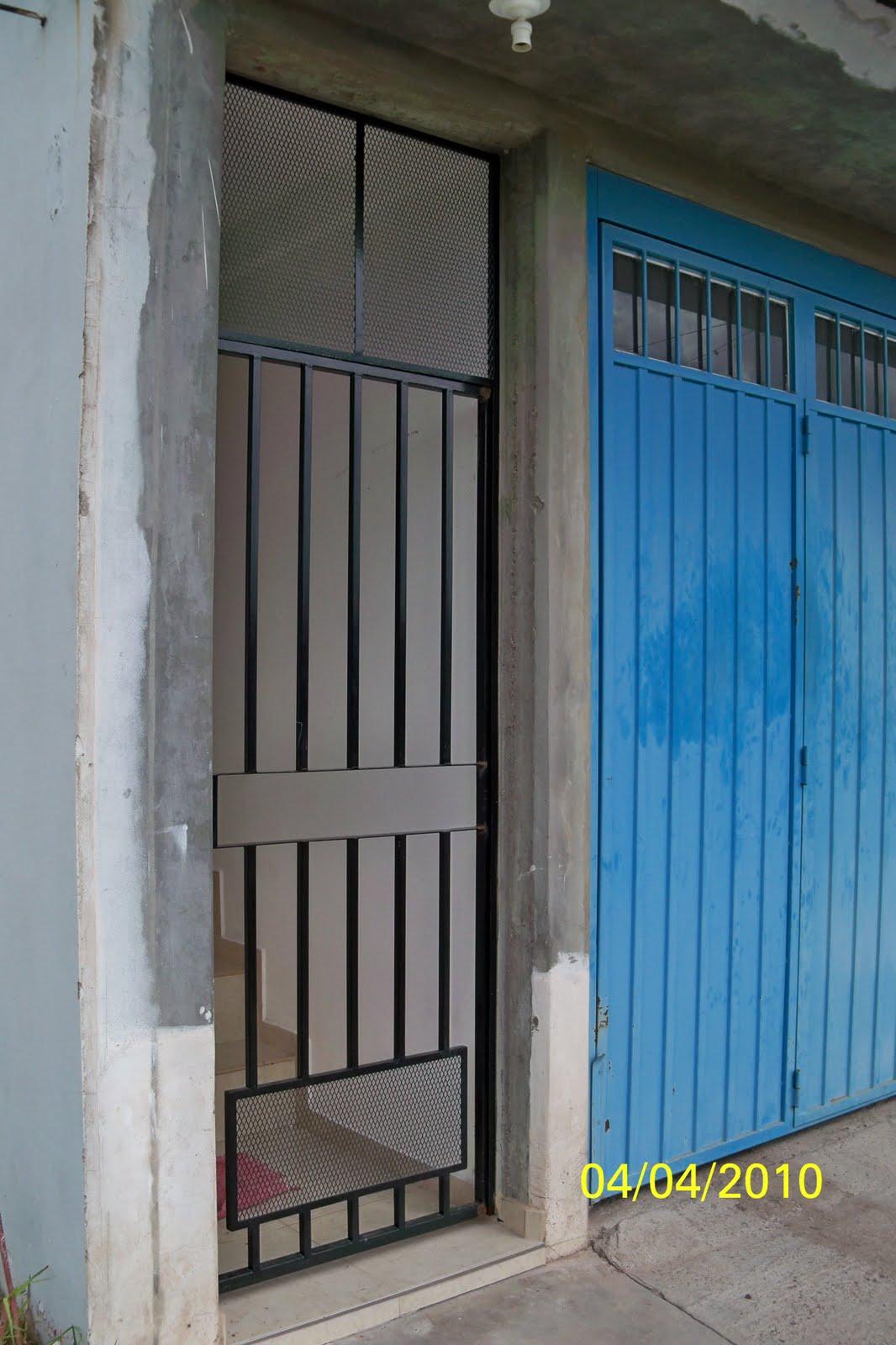 Todo metal mas trabajos reja balcon y puerta de escalera - Puertas de escalera ...