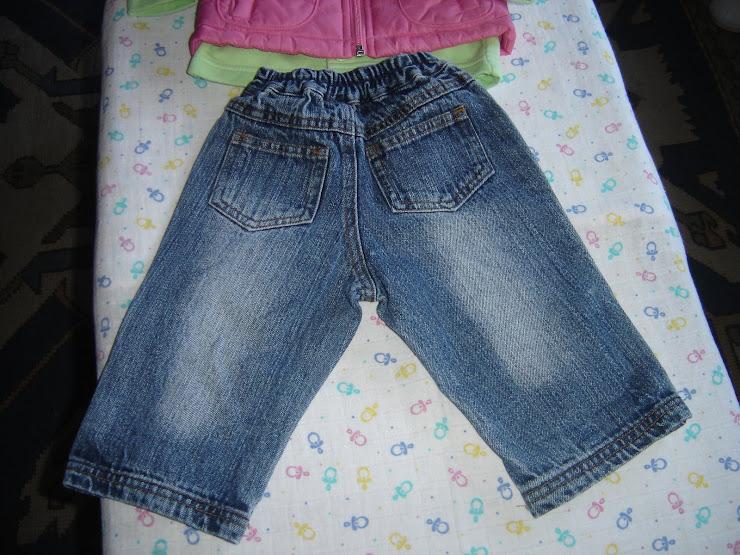 calça ganga 3,5eur, 6 meses