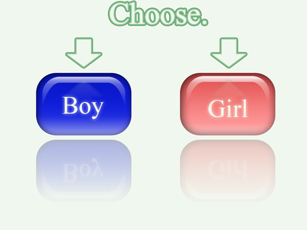 donor gender selection