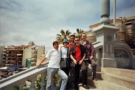 A Sitges amb els amics d'Igualada