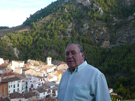Mi padre en Bogarra (Albacete)